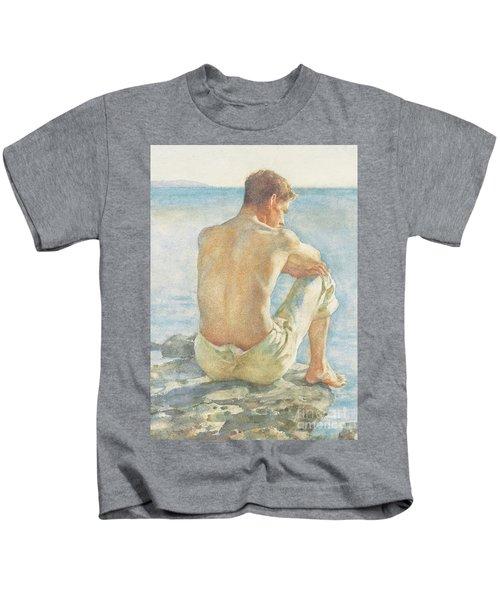 Watching The Sea Kids T-Shirt