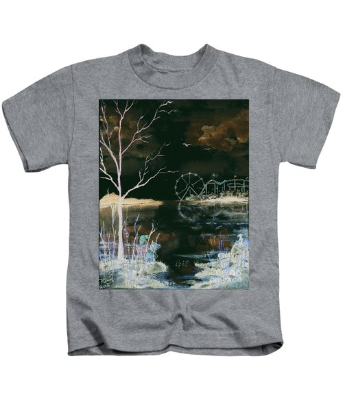 Watching The World Go Round Inverted Kids T-Shirt