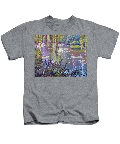 Water Lily Pond Giverny Kids T-Shirt