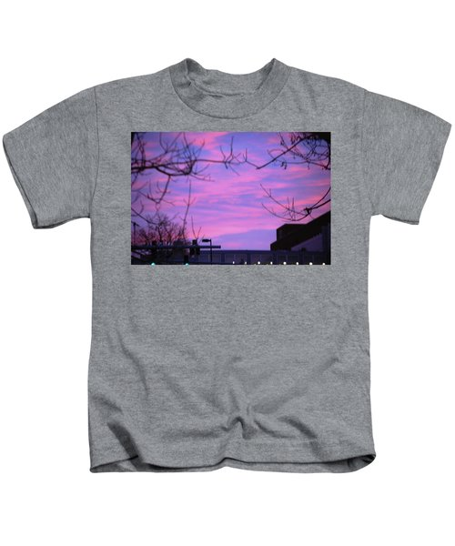 Watercolor Sky Kids T-Shirt