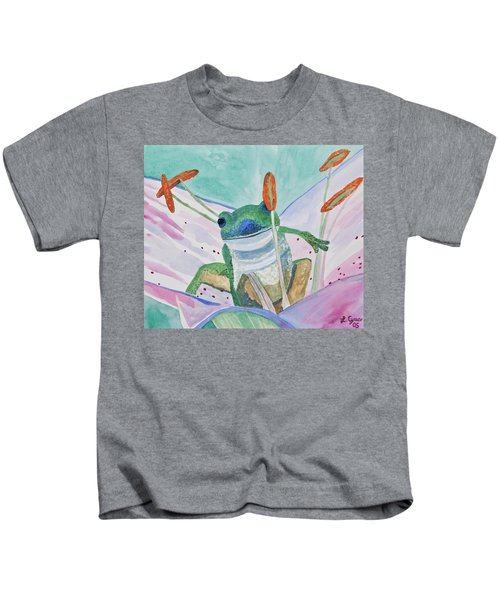 Watercolor - Tree Frog Kids T-Shirt