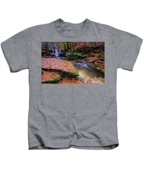 Waterfall-3 Kids T-Shirt