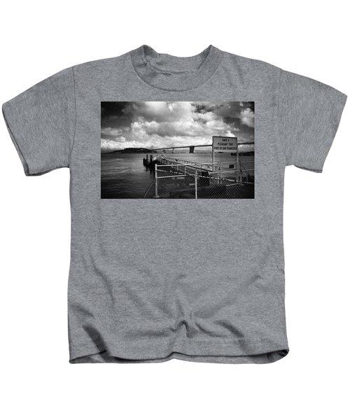 Waterfront San Francisco Kids T-Shirt