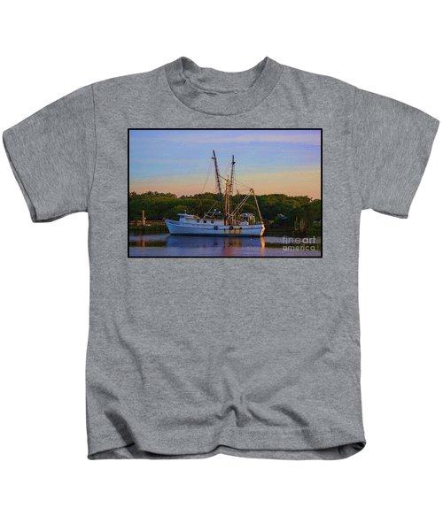 Old Shrimper Kids T-Shirt
