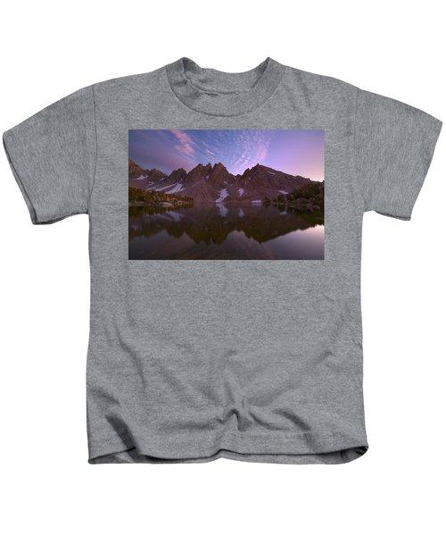 Waves Of Light Kids T-Shirt