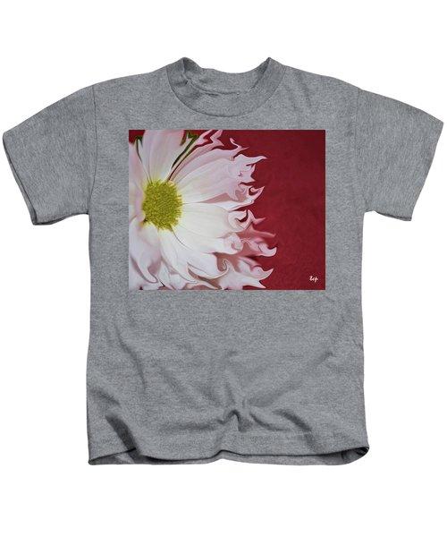 Waves Of White Kids T-Shirt