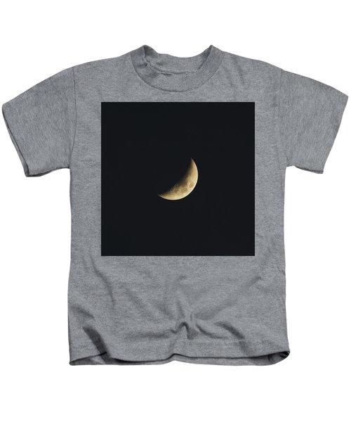 Waxing Crescent Spring 2017 Kids T-Shirt
