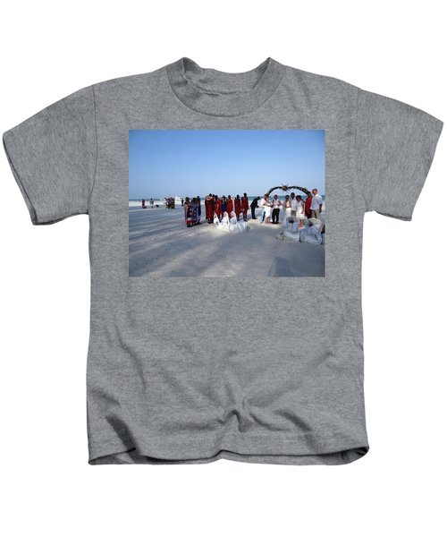Wedding In The Afternoon Shadow Kids T-Shirt