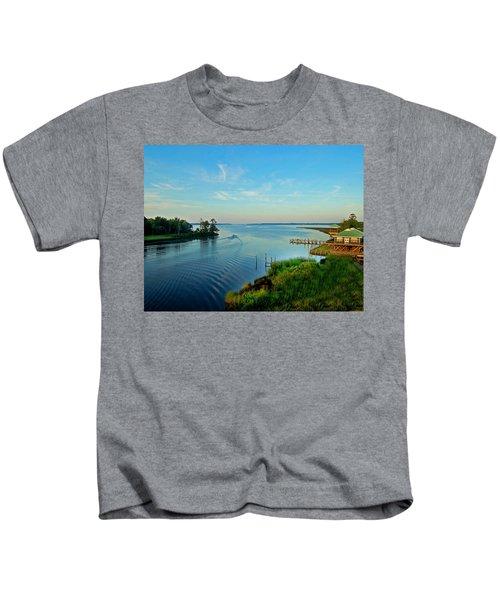 Weeks Bay Going Fishing Kids T-Shirt