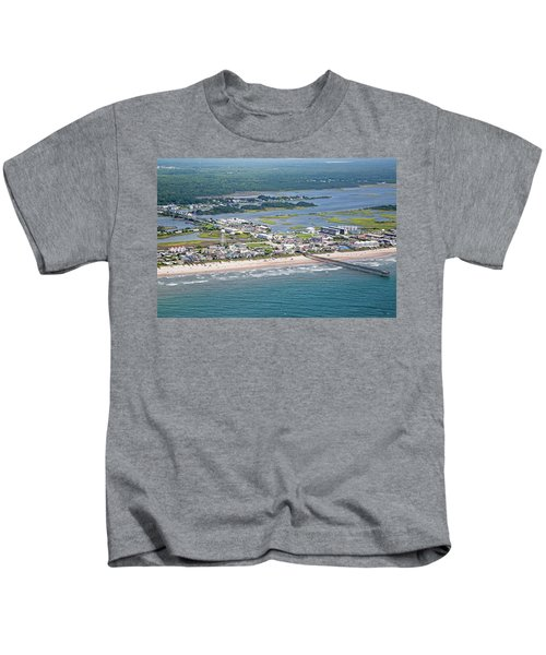 Welcome Aboard Surf City Topsail Island Kids T-Shirt