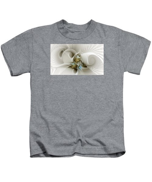 Welcome To The Second Floor-fractal Art Kids T-Shirt