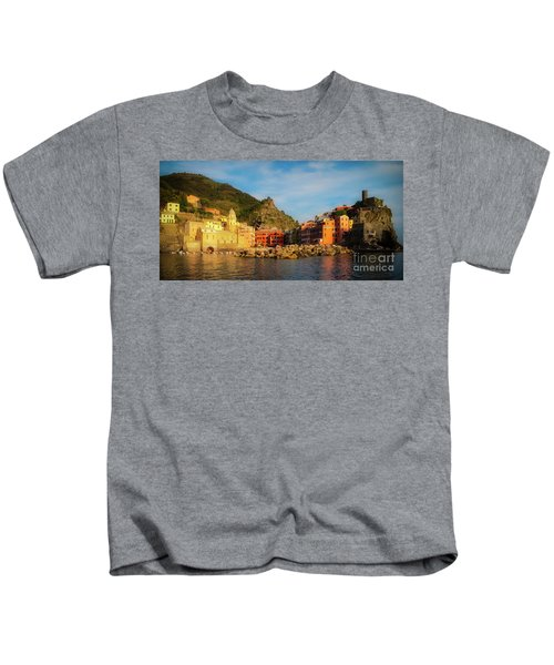 Welcome To Vernazza Kids T-Shirt