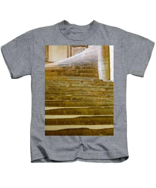 Wells Cathedral Steps Kids T-Shirt