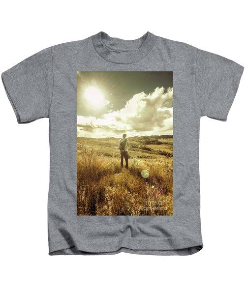 West Coast Tasmania Explorer Kids T-Shirt