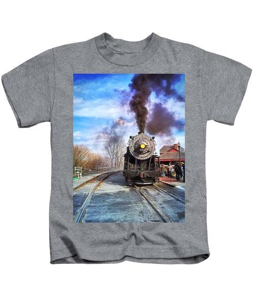 Western Maryland Steam Engine Kids T-Shirt
