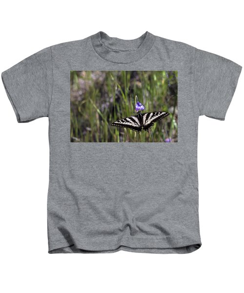Western Tiger Swallowtail Kids T-Shirt