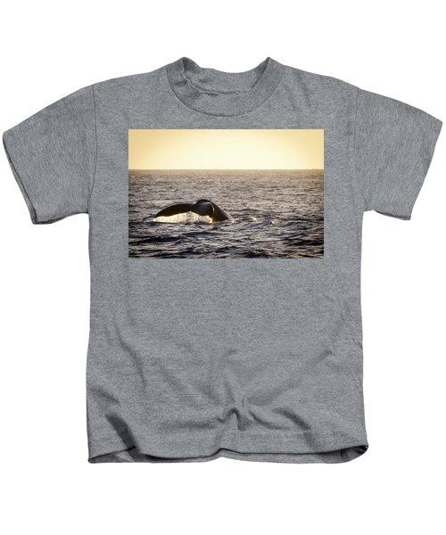 Whale Fluke Kids T-Shirt