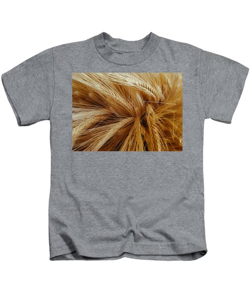 Wheat In The Sunset Kids T-Shirt