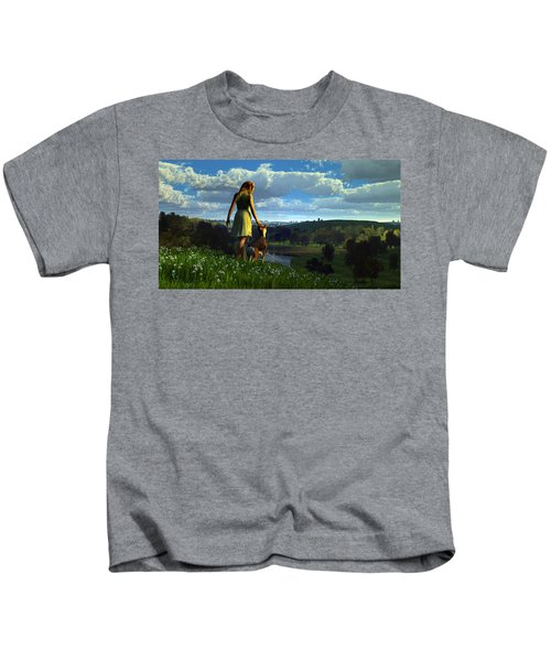 When The Sparrows Sing Kids T-Shirt