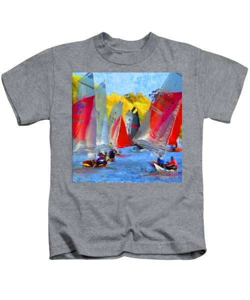 When The Wind Blows Kids T-Shirt