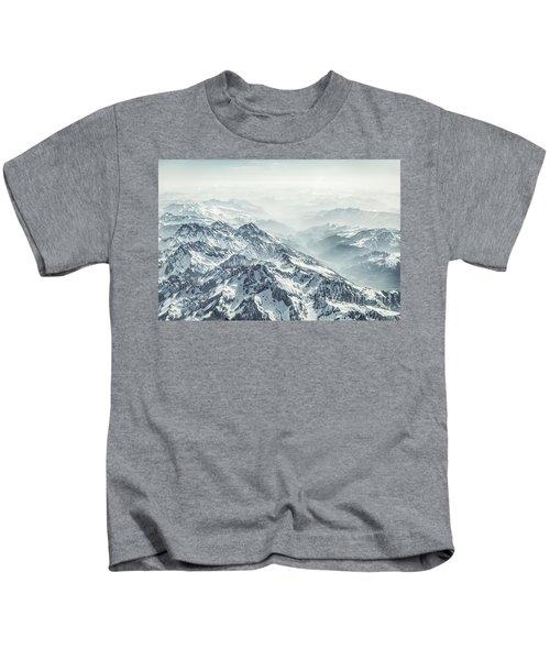 Where The Snow Never Melts Kids T-Shirt