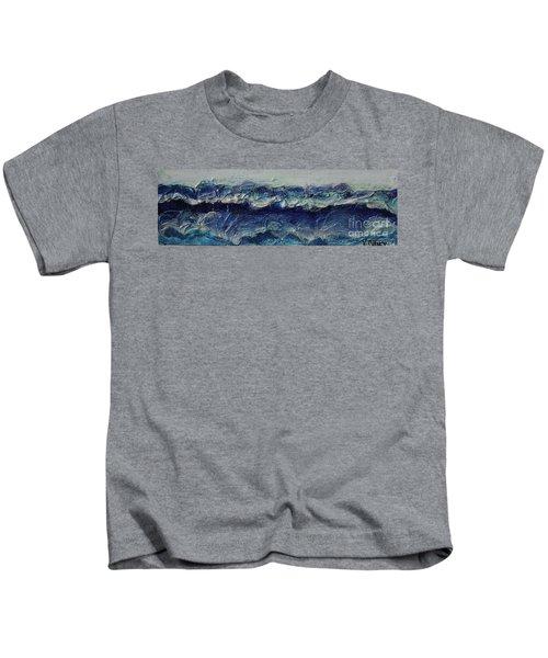 Whipped Cream Waves Kids T-Shirt