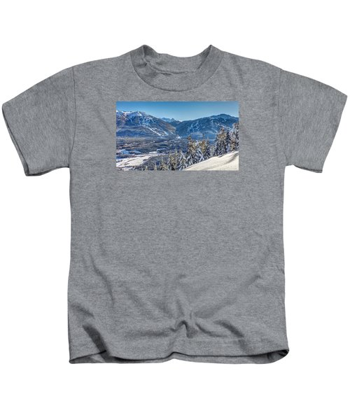 Whistler Blackcomb Winter Wonderland Kids T-Shirt
