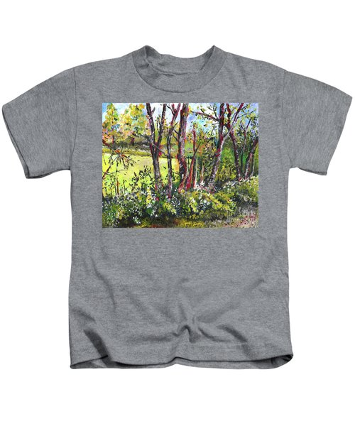 White And Yellow - An Unusual View Kids T-Shirt