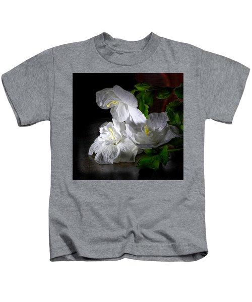 White Blossoms Kids T-Shirt