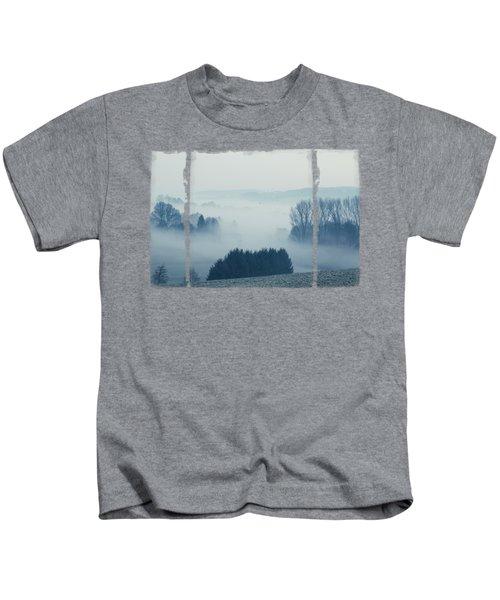 White Cover - Misty Fields Kids T-Shirt