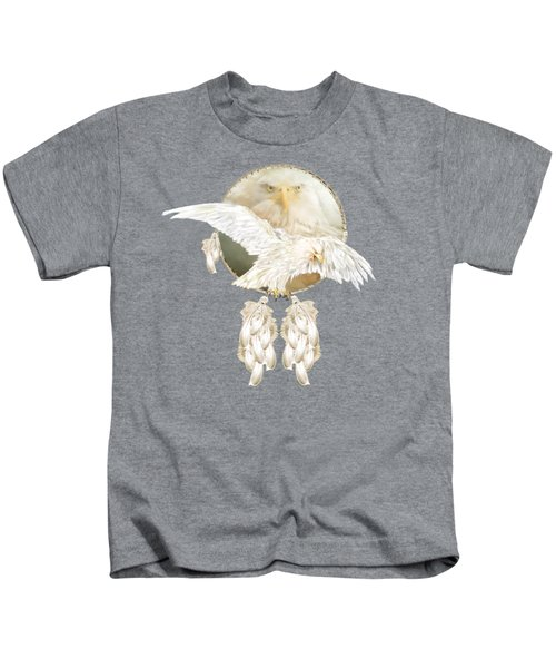 White Eagle Dreams Kids T-Shirt