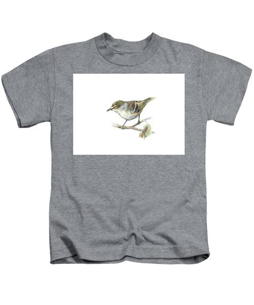 White-eyed Vireo Kids T-Shirt