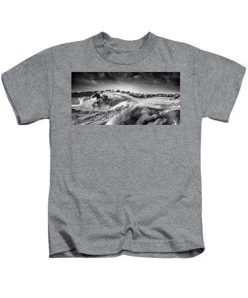 White Horses Kids T-Shirt