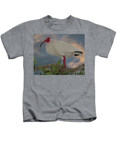 White Ibis Kids T-Shirt