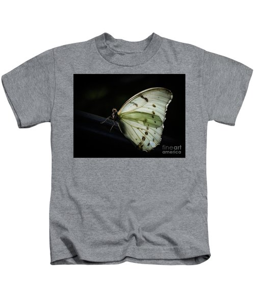 White Morpho In The Moonlight Kids T-Shirt