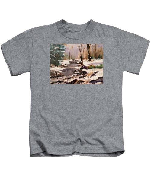 White Mountains Creek Kids T-Shirt