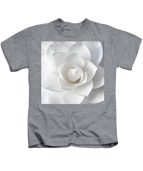 White Petals Kids T-Shirt