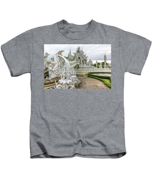 White Temple Thailand Kids T-Shirt