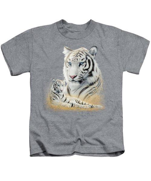 White Tiger Kids T-Shirt