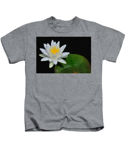 White Water Lily Kids T-Shirt