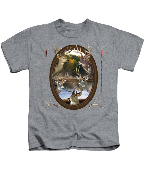 Whitetail Dreams Kids T-Shirt