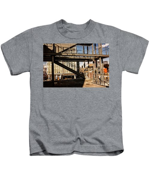 Whitney Terrace Grid Kids T-Shirt