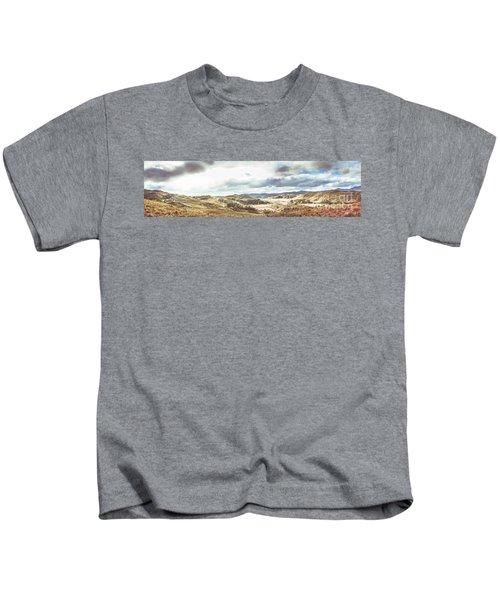 Wide Open Country Australia Kids T-Shirt