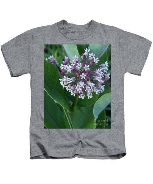 Wild Flower Star Burst Kids T-Shirt
