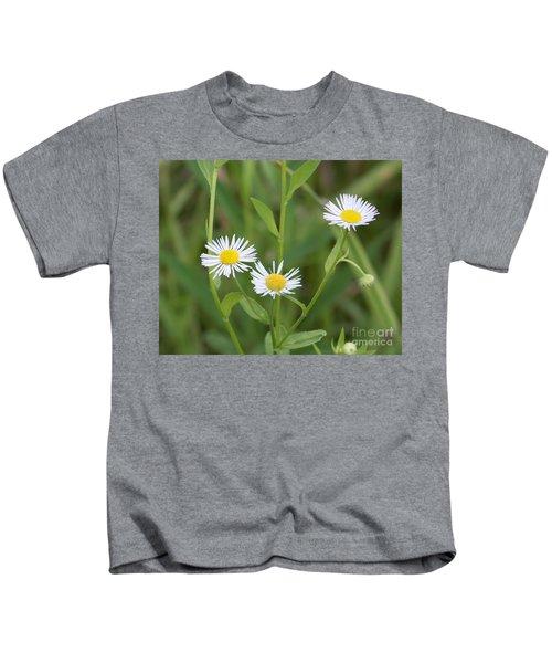 Wild Flower Sunny Side Up Kids T-Shirt
