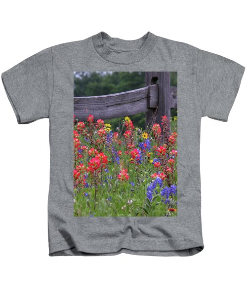 Wild Flowers Kids T-Shirt