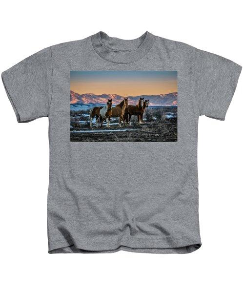 Wild Horse Group Kids T-Shirt