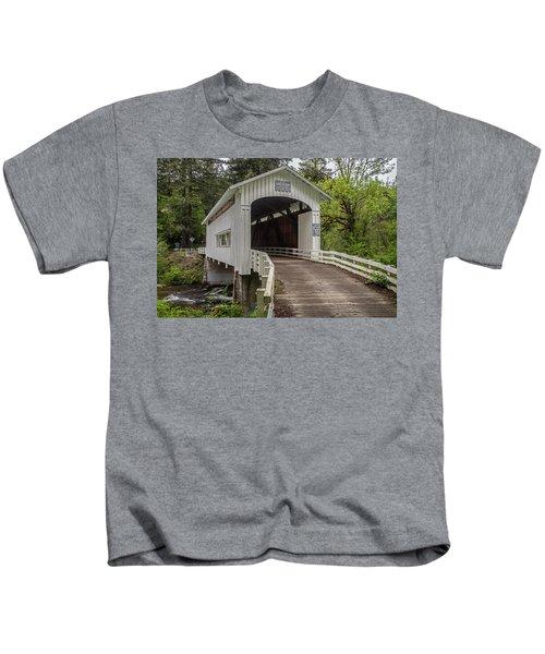 Wildcat Creek Bridge No. 1 Kids T-Shirt