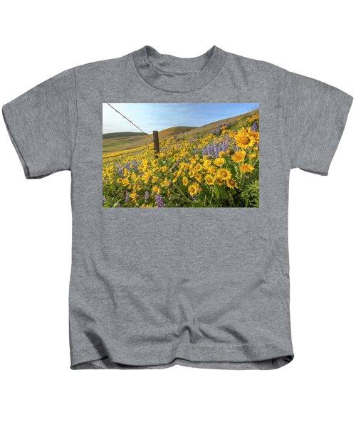 Wildflower Bonanza Kids T-Shirt