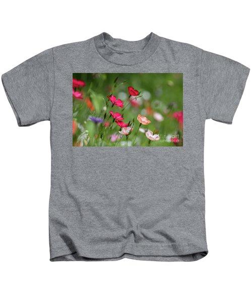 Wildflowers Meadow Kids T-Shirt